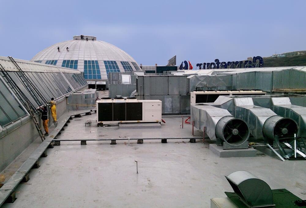 renowacja-i-konserwacja-pokryć-dachowych przemysłowych.